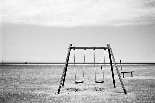 La balançoire sur la plage
