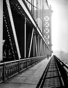 Manhattan Bridge, 1936 von Christian Müringer