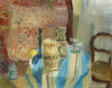 Stilleven met citroen en druiven, Walter Kurt Wiemken