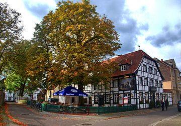 Oud dorp 2 van Edgar Schermaul