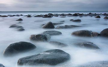 Stenen op een bed van zijde van Hannon Queiroz
