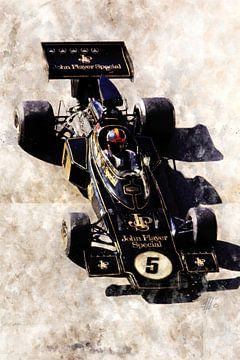 Emerson Fittipaldi, JPS Lotus von Theodor Decker
