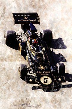 Emerson Fittipaldi, JPS Lotus van Theodor Decker