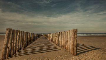 Strandpfosten Seeland von anne droogsma