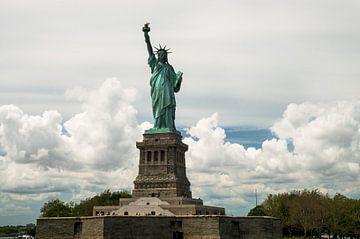 New York, Vrijheidsbeeld op Liberty Island van Hans Wijnveen