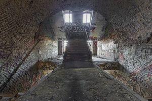 Urbex grafitti trap