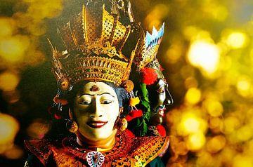 Bali-Tänzer II Barong von Eduard Lamping