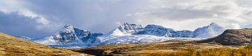 Verschneite Berge in Rondane von Johan Zwarthoed