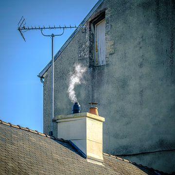 Een rokende schoorsteen van Petra Cremers
