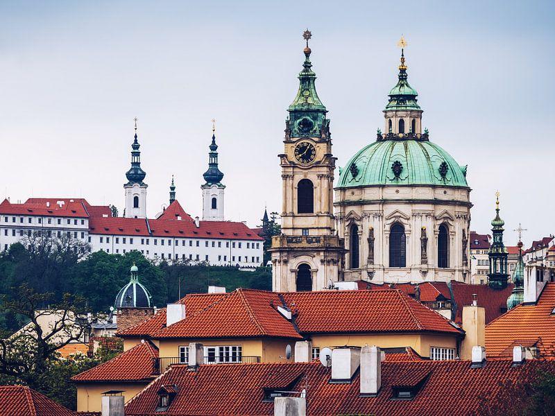 Prague - Malá Strana Skyline van Alexander Voss