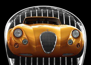 Wiesmann Roadster MF3 in gold color von aRi F. Huber