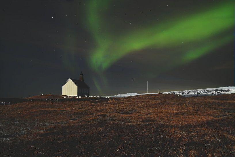 Nordlicht in Island von AJ Zuidema