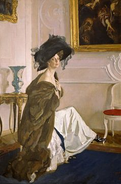 Porträt von Prinzessin Olga Orlova, Valentin Serov