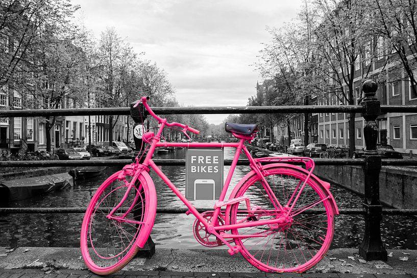 Das Fahrrad in Amsterdam von Brian Morgan