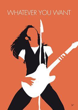 No233 MY STATUS QUO Minimal Music poster von