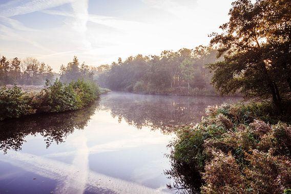 Twiske met water en mist