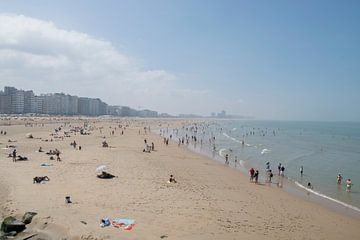 Aan het strand van Oostende van Miss Dee Photography