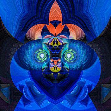 Fantasierijke abstracte twirlillustratie 131/5 van PICTURES MAKE MOMENTS