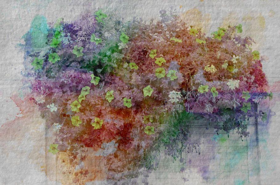 muurbloempjes van Yvonne Blokland