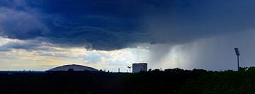 Regenbuien van Edgar Schermaul