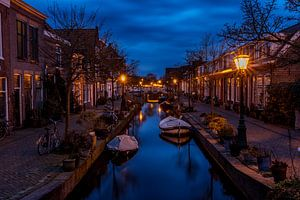 de Kijfgracht in Leiden van