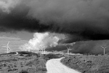 Windmühlen. von M. van Oostrum