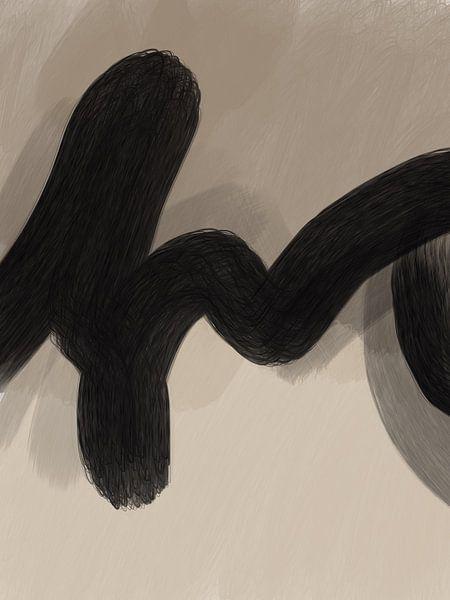 Modern art - cordis van YOPIE illustraties
