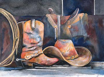 Cowboy Feierabend van Jitka Krause