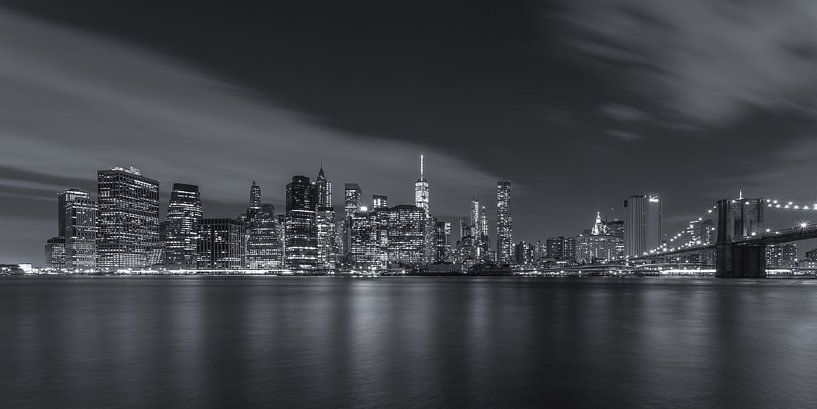 New York Skyline - 11 van Tux Photography