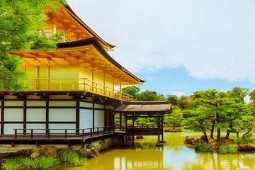 Gouden Tempel Kinkaku-ji van Pascal Deckarm