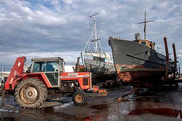 port au Danemark sur Hanneke Luit