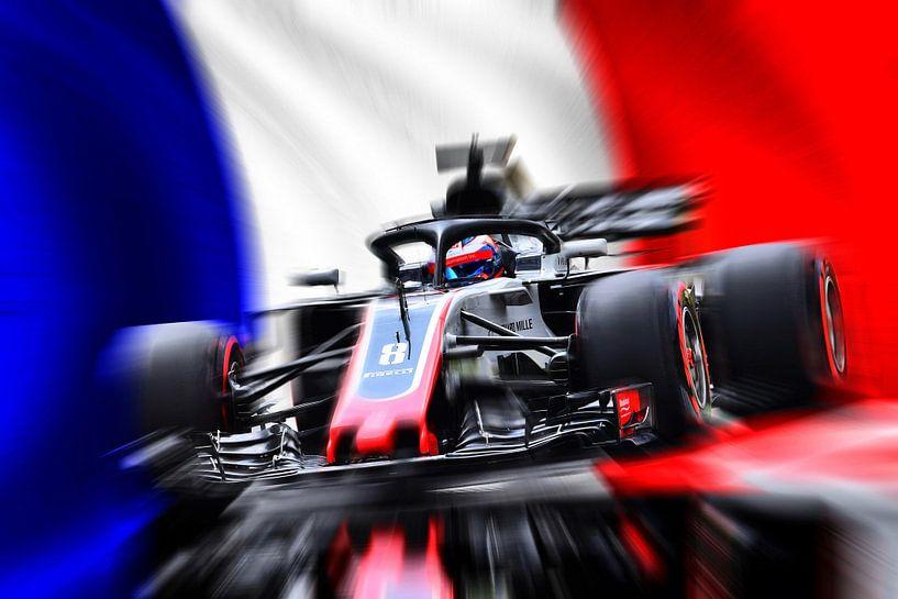 Romain Grosjean von Jean-Louis Glineur alias DeVerviers