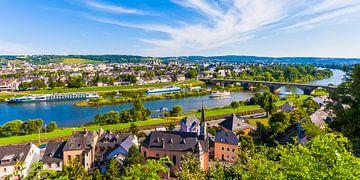Stadsgezicht van Trier van Werner Dieterich