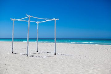 Strand van Varadero, Cuba van Kees van Dun