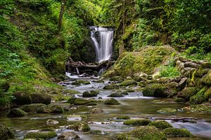 Geroldsau waterfall