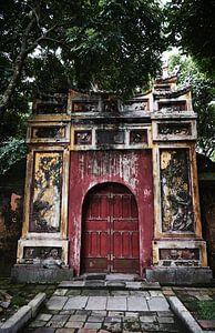Vietnamese poort in Hue van