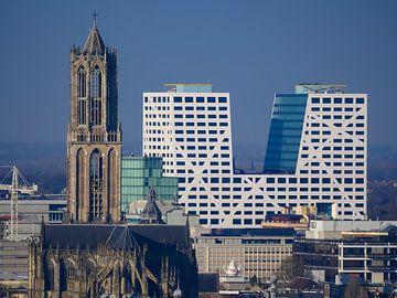 Dom Utrecht en Stadskantoor van Mart Gombert