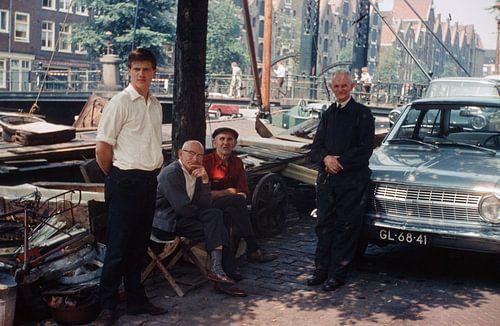 Vintage Amsterdam Brouwersgracht van
