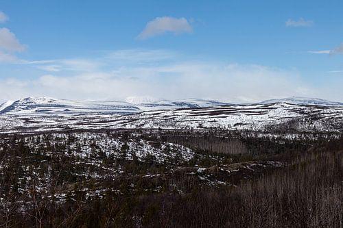 Berglandschap Finland