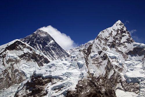 Everest Gipfel van Gerhard Albicker