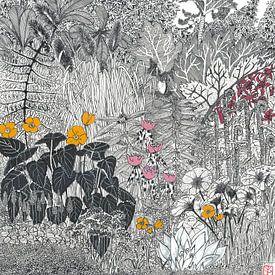 Mein Garten von Yvonne Jansen