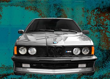 BMW M635CSi E24 in zilver van aRi F. Huber
