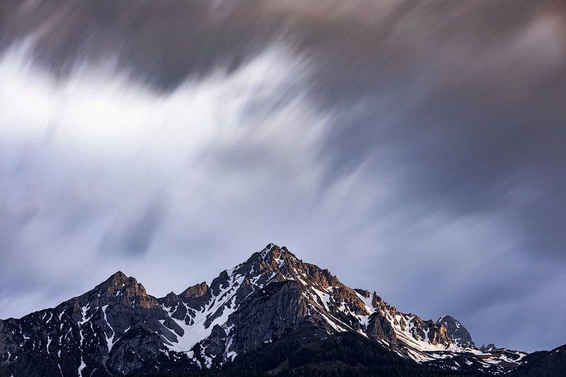 Extreem weer in de bergen van Hidde Hageman