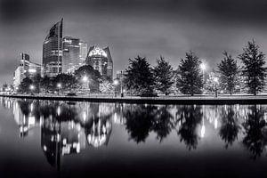 Den Haag in schwarz-weiß