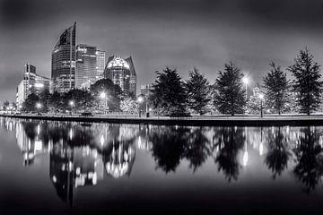 Den Haag in schwarz-weiß von Sander Meertins