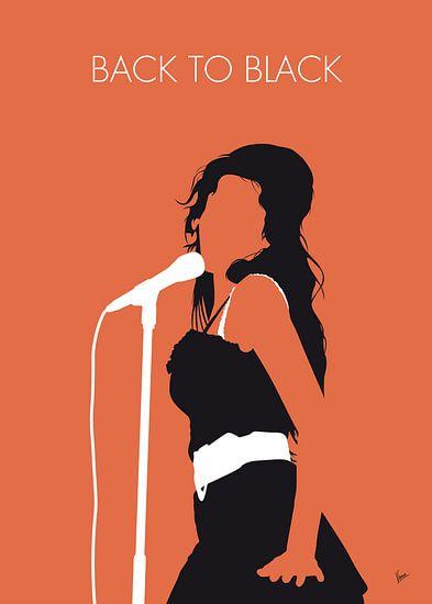 No133 MY AMY WINEHOUSE Minimal Music poster van Chungkong Art