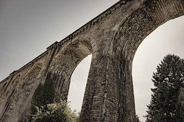 Brücke bei  Sarlat-la-Canéda von Jan van der Knaap