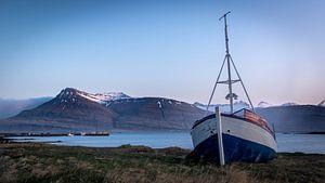 Gestrand in IJsland van Nico  Calandra