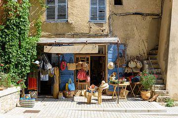 Kleiner Laden Cotignac Südfrankreich