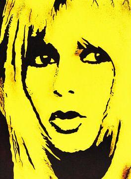 "Brigitte Bardot ""Fatal"" van Kathleen Artist Fine Art"